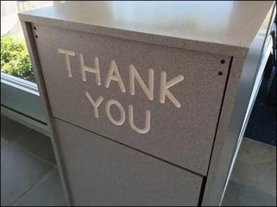 Mercedes Benz Says Thank You