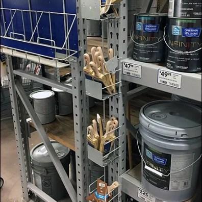 paint-brush-strip-merchandiser-for-pallet-rack-upright-1