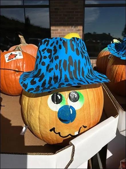 Pumpkin Face Merchandising On The March