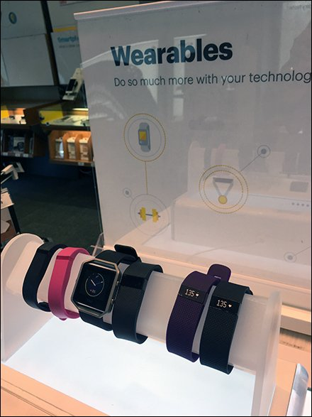 Electronic Wearables Bracelet Hump At Sprint