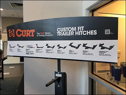 Custom Trailer Hitch Display