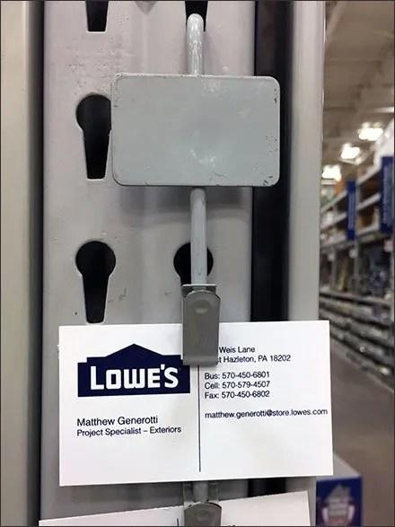 Business Card Strip Merchandiser Pitch
