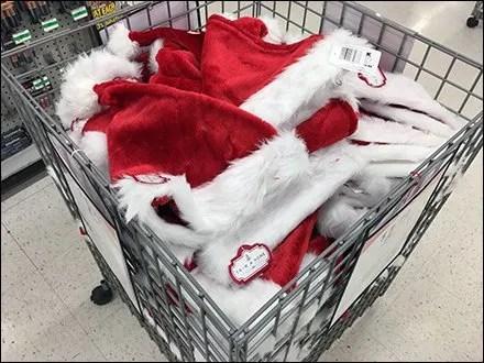Elf Christmas Cap Bulk Bin Merchandising