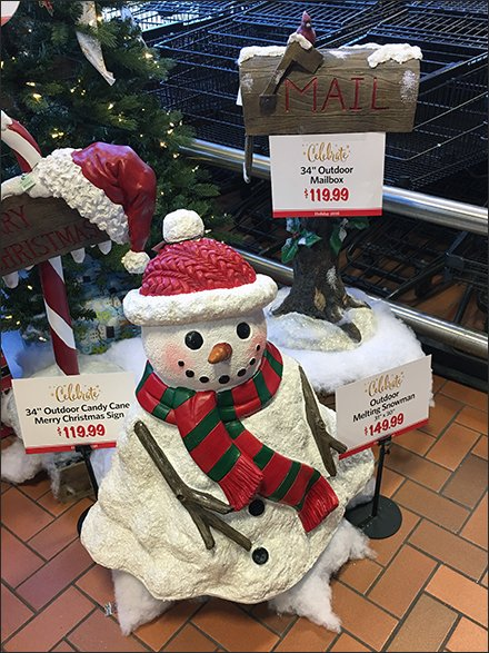 Rural Delivery Mail Box Does Christmas Lists – Fixtures Close Up
