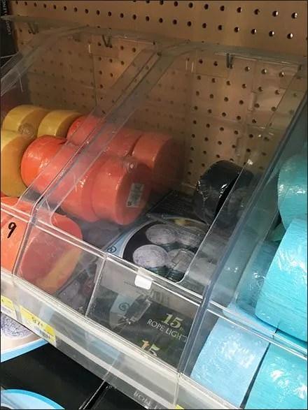 Crepe Ribbon Acrylic Bulk Bins