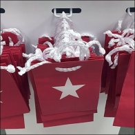 Macy's Miniature Gift Card Bags Hooked