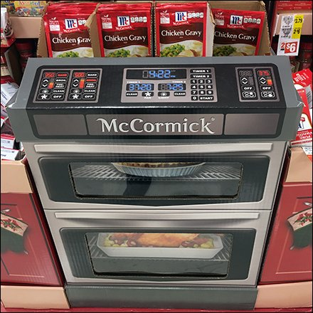 McCormick Spice Thanksgiving Oven Display