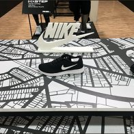 Nike Swoop Branding Both Coming and Going