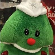 Macys Star-Topped Plush Christmas Tree