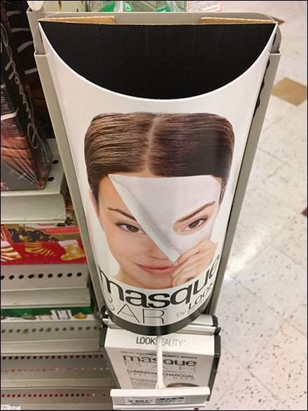 Beauty Mask Merchandising By PowerWing