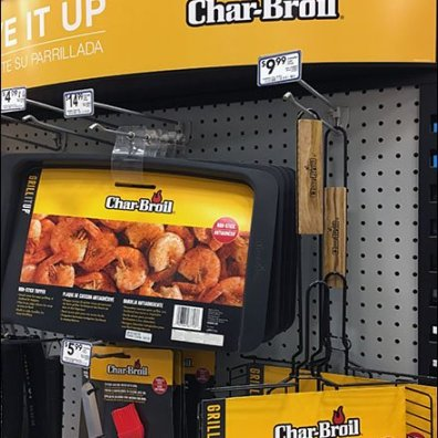 Char-Broil Live It Up Griller's Display