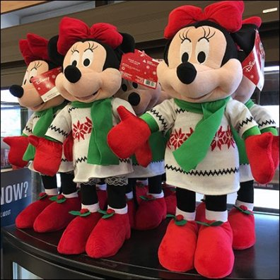 Minie Mouse Cooler-Top Plush Sales For Disney