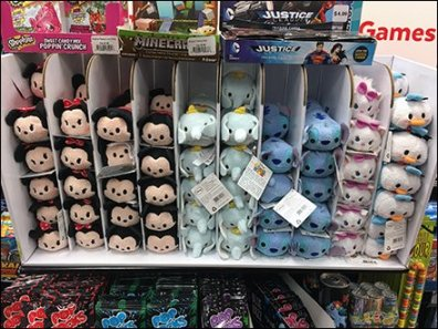 Disney Tsum Tsum Corrugated Gravity Feed