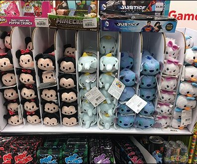Disney Tsum Tsum Corrugated Gravity Feed
