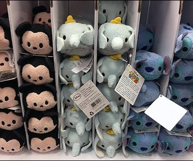 Disney Tsum Tsum Corrugated Gravity Feed 2