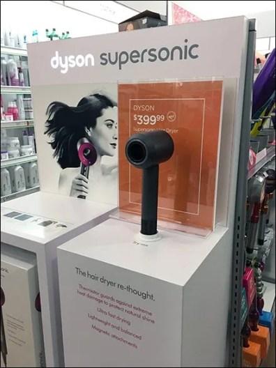 Dyson SuperSonic Hair Dryer Display POP 2