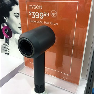 Dyson Try-Me For SuperSonic Hair Dryer