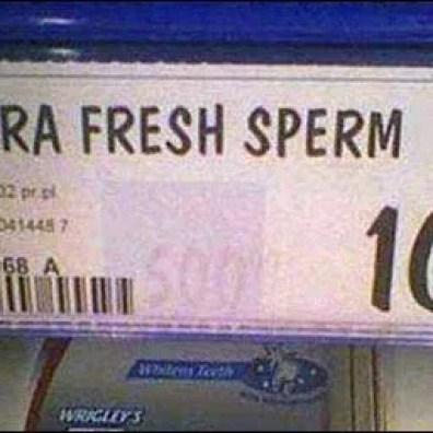 Sperm Bank Shelf Edge Labeling