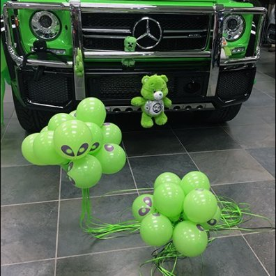 Mercedes Benz 2017 G63 AMG Alien Green
