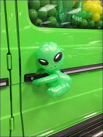 G63 Alien Green Gremlins 2