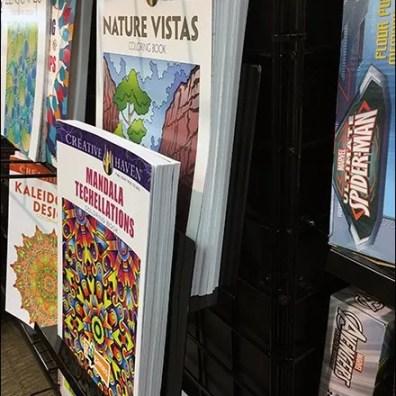 GridWall Tiered Book Literature Holder 3