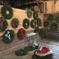 Tree Farm Christmas Wreath Showrooming