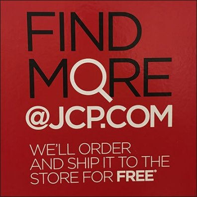 JCPenney Find More App Feature