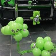 Mercedes Benz 2017 Alien Green Plush 2