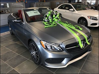 Mercedes Wishes Happy New Year and I Love You