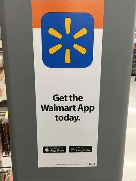 Architecture Advertises Walmart App