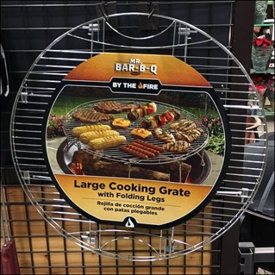Mr Bar-B-Q Cooking Grate Feature