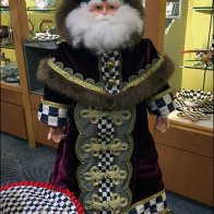 Father Christmas Waits For You At Neiman Marcus