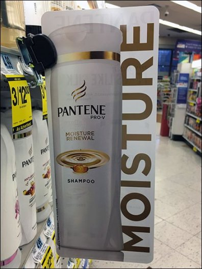 Pantene Shelf Edge Category Definition