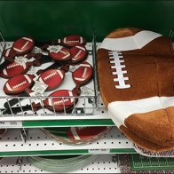 Party City Football Shelf Fencing Main
