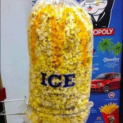 Iced Popcorn Merchandising