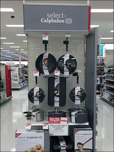 Select Calphalon Endcap Display 2