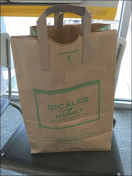 Sickles Branded Barrel Bag With Integral-Handles