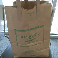 Sickles Branded Barrel Bag With Integral Handles