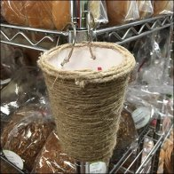 Sickles Twine-Wrapped Twist Tie Container