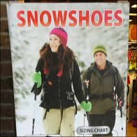Snowshoe Sell Offers Range Of Sizes