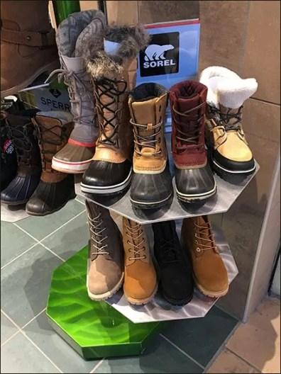 Sorel Heaxagonal Boot Stand 2