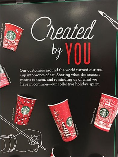 Starbucks Cups Created By You 2