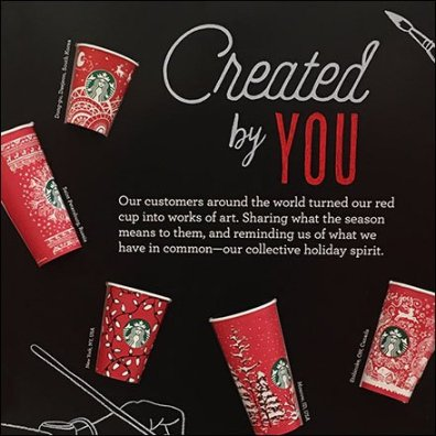 Starbucks Cups Created By You Feature