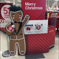 Target Gingerbread Man Merry Christmas 2