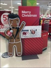 Target Gingerbread Man Merry Christmas 2