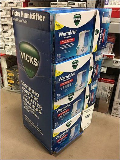 Vicks Branded Humidifier 2
