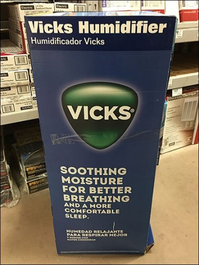 Vicks Branded Humidifier 3