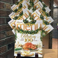 100th Anniversary Menu Branding by Wegmans