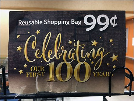100th Anniversary Shopping Bags Brand Extension