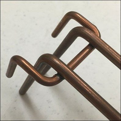 Copper Color Loop Hook